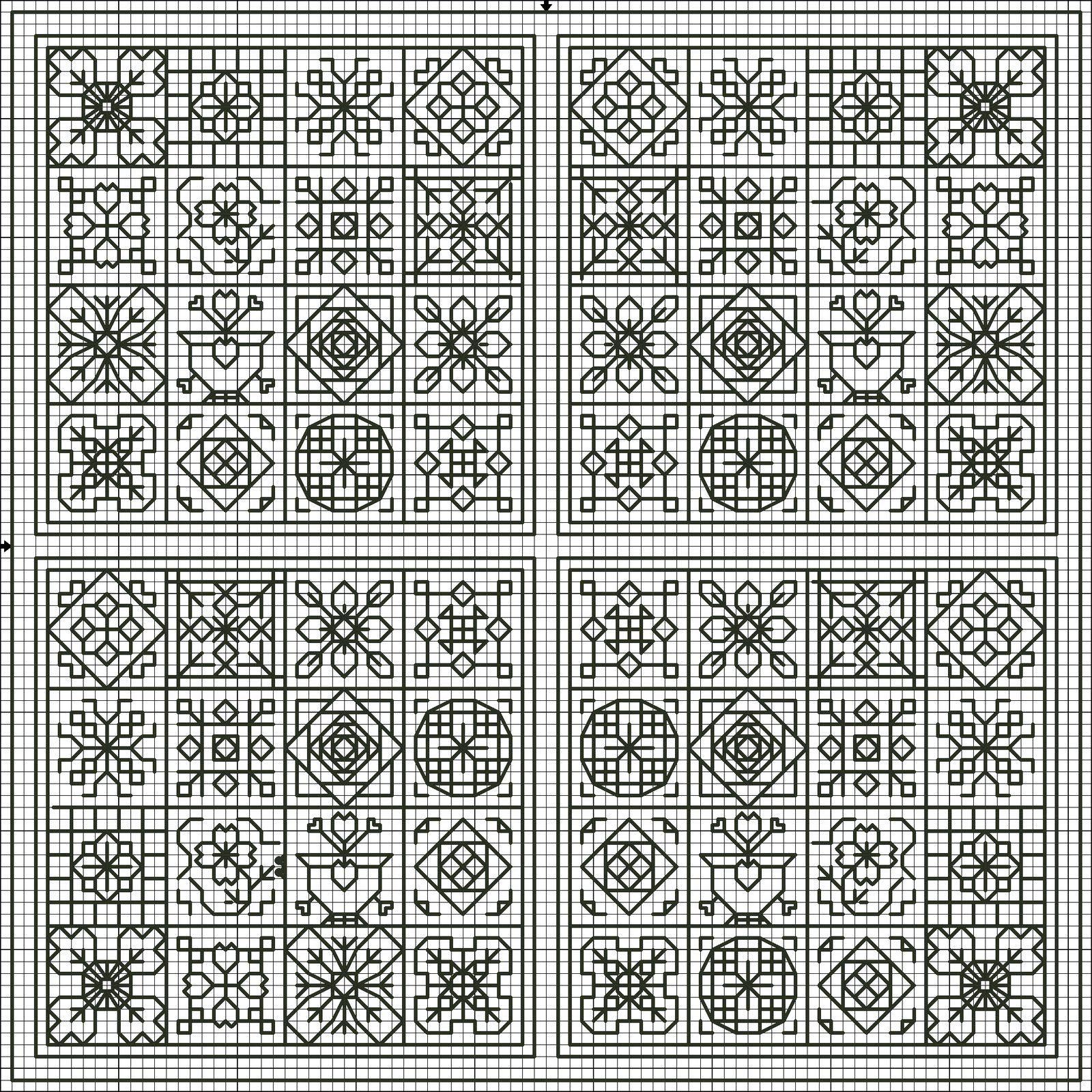 Blackwork Patterns Interesting Design Ideas