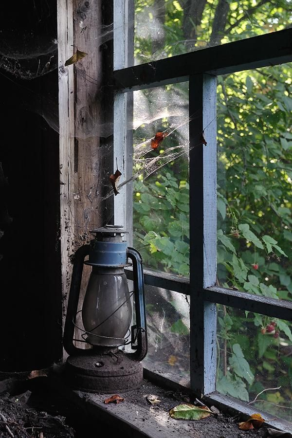 Old Oil Lamp in Window by Sergey Konovalov - Pixdaus