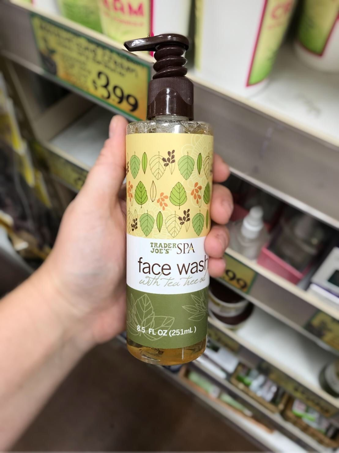 8 Must Have Beauty Products At Trader Joes Barefoot Blonde Tea Tree Oil Face Skin Care Trader Joes