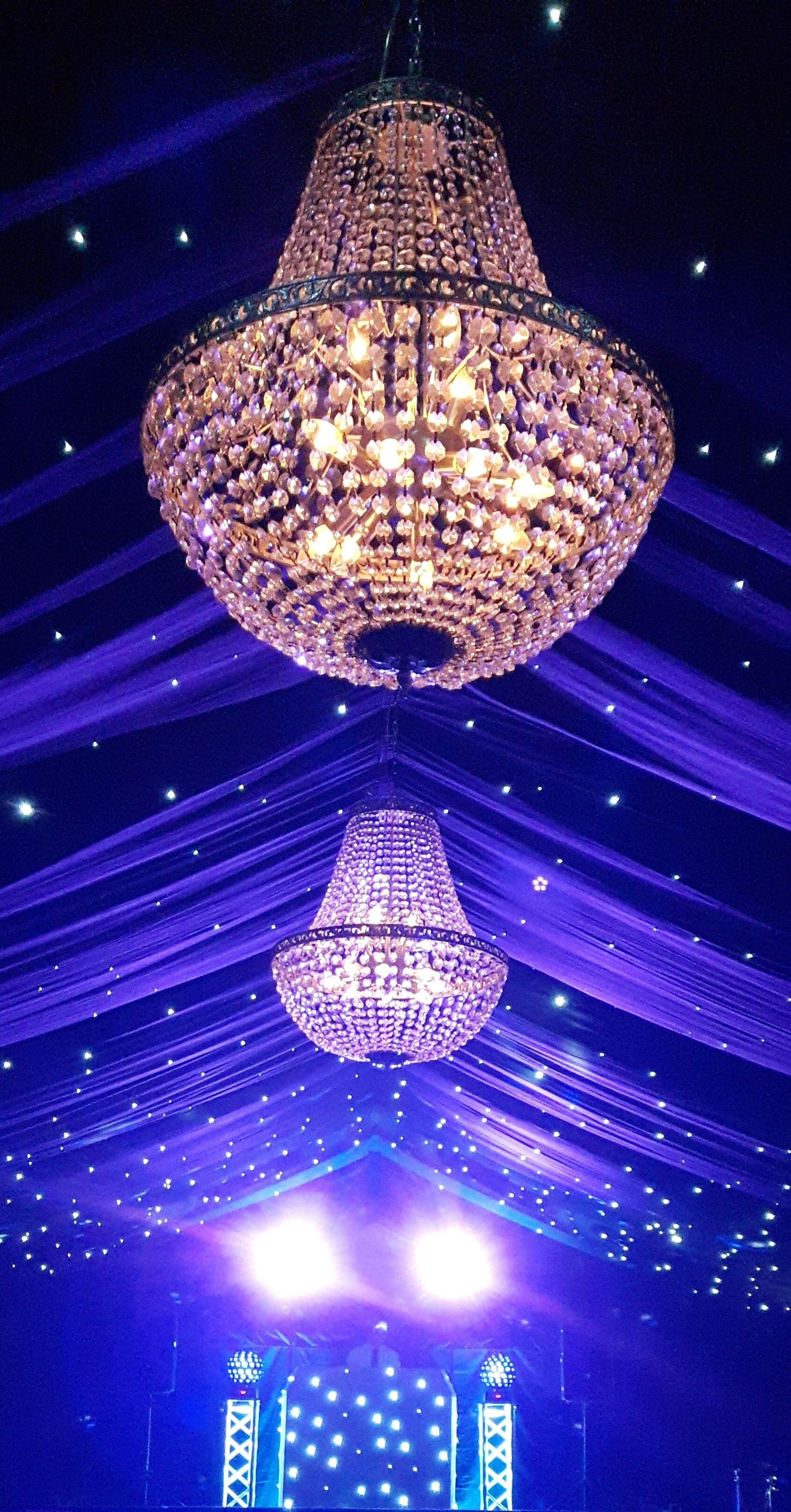 Gorgeous Chandeliers Take Centre Stage Hanging From The
