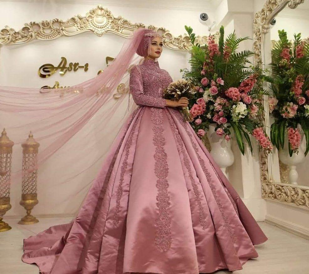 Https Www Tesetturelbisesi Com 2018 Tafta Tesettur Nisanlik Modelleri Ni Formal Dresses For Weddings Private Collection Wedding Dress Muslimah Wedding Dress