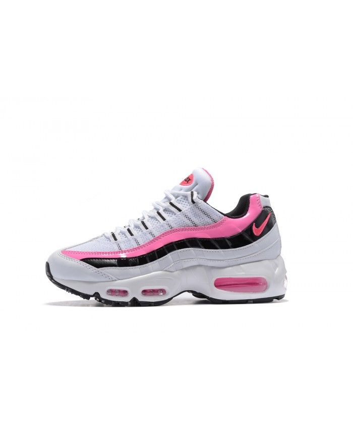 classic fit 0c826 5f21c Pink White Black Nike Air Max 95 Anniversary Trainers