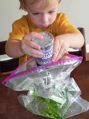 Play At Home Mom LLC: Squishy Bag - A tactile/multisensory approach to pre-writing and writing skills