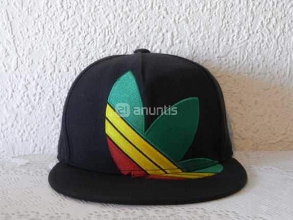 Gorra Plana Adidas Estilo Reggae  a84d4bf91a6
