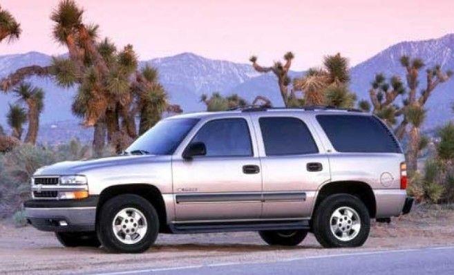 2002 Chevrolet Tahoe Owners Manual Chevrolet Tahoe Chevrolet Tahoe