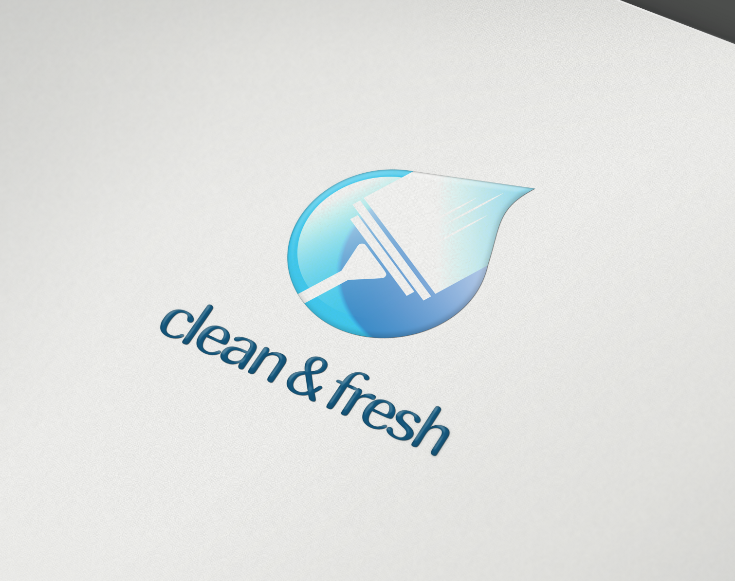 Exclusive Logo 71737 Clean And Fresh Logo Cleaning Company Logo Cleaning Company Names Cleaning Service Logo