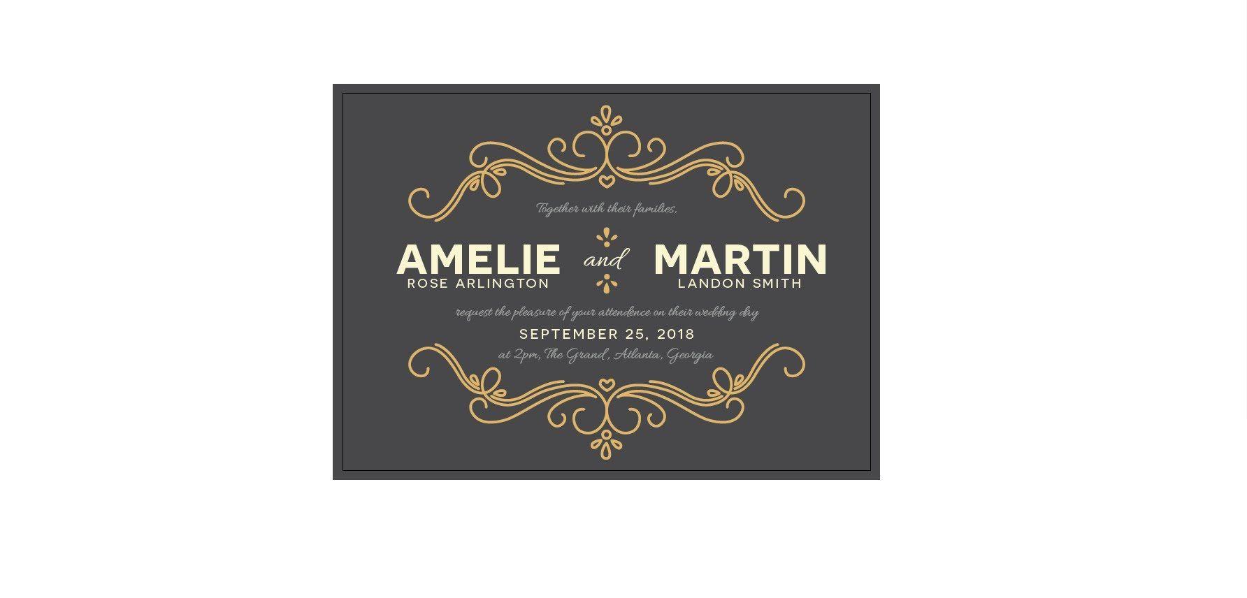 How to Create a Wedding Invitation in Illustrator | Illustrator ...