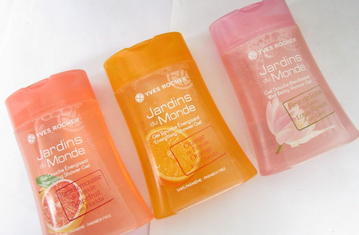 Yves Rocher Jardins Du Monde Energizing Shower Gel Orange Zest Review