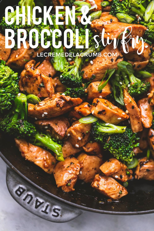 Chicken And Broccoli Stir Fry Stir Fry Recipes Chicken Broccoli Recipes Chicken Meal Prep