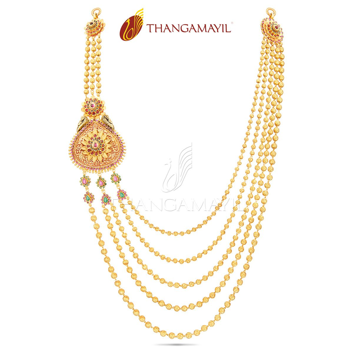 Pin by Thangamayil Jewellery on Sparkling Malai From Thangamayil ...