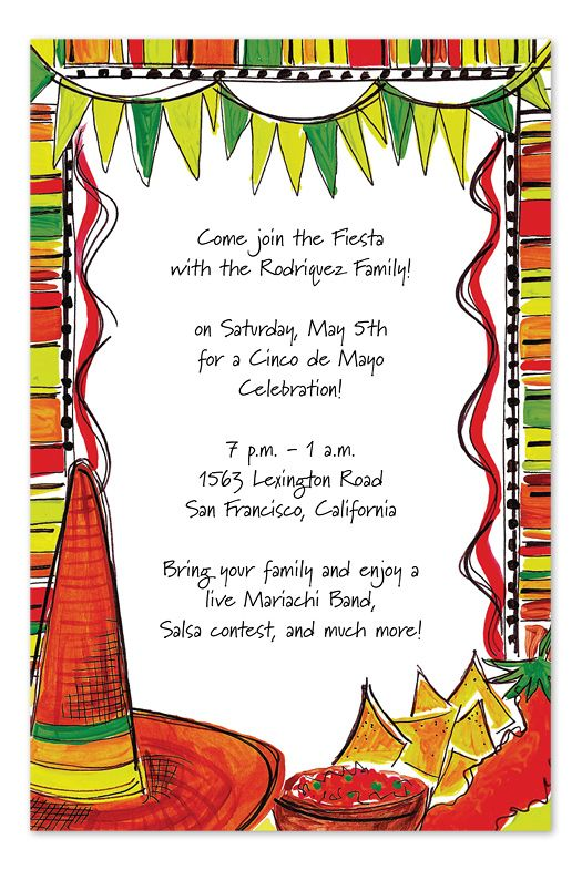 39 mexican fiesta 39 by invitation consultants party for Mexican themed powerpoint template