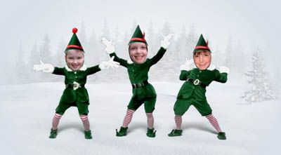 Lots of fun with dancing elves elves lots of fun with dancing elves elf yourselfelf funnyfunny videoselves christmas goodiesdancing solutioingenieria Image collections