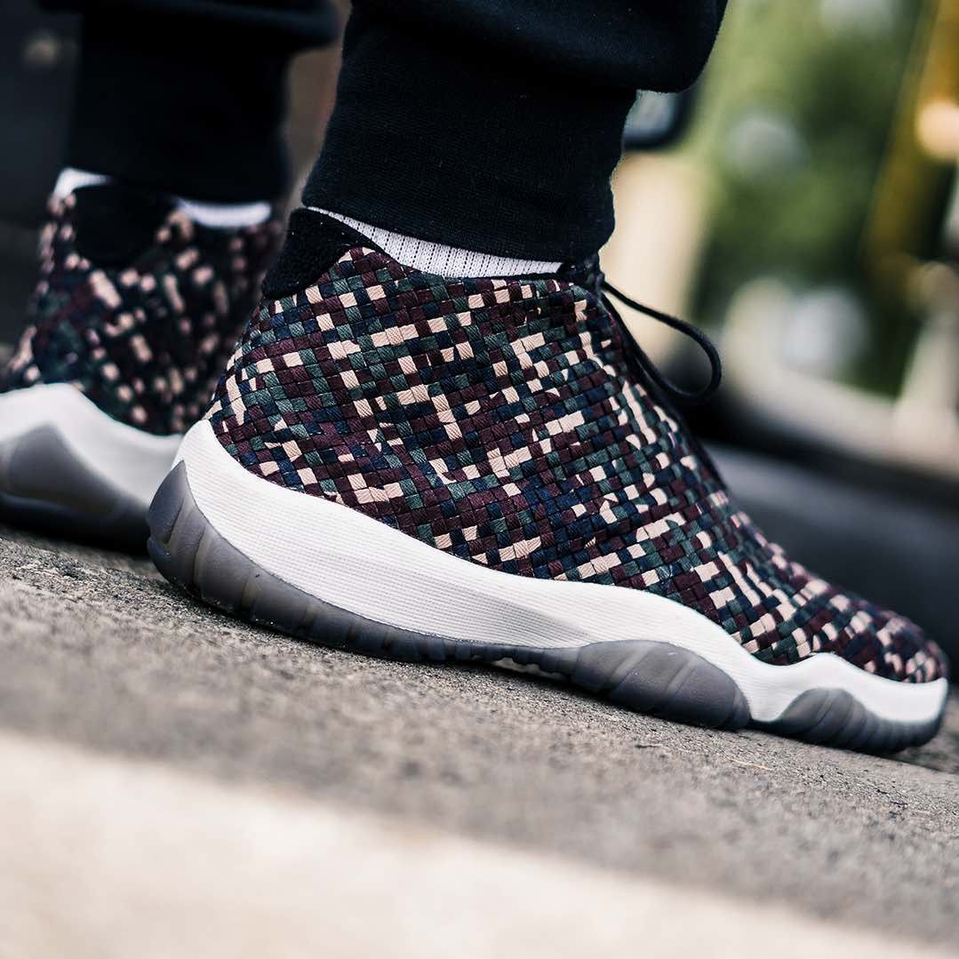 big sale cbd5f c7710 Release Date   July 14, 2018 Air Jordan Future Premium Camo Credit    43einhalb —  nike  jordan  future  sneakerhead  sneakersaddict  sneakers   kicks ...