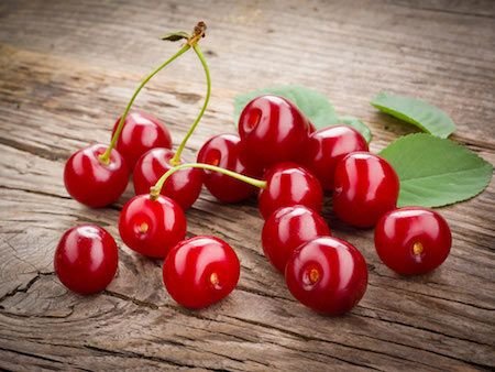Ten tips to overcome insomnia:10: Eat cherries. Cherries are one of the few natural sources for melatonin, which helps aid restful sleep. Tart cherries in particular are best. Melatonin is responsible for the regulation of your inner body clock and therefore might help you fall asleep and stay asleep.