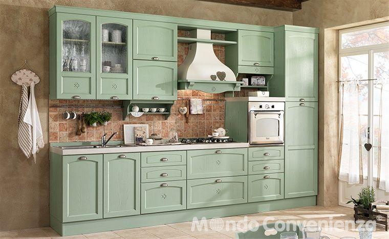 Cucina Contea - Cucina composizione tipo - Classico | Cucina ...