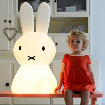 mr maria miffy lampe xl kinderzimmer kinderzimmergestaltung und beleuchtung. Black Bedroom Furniture Sets. Home Design Ideas