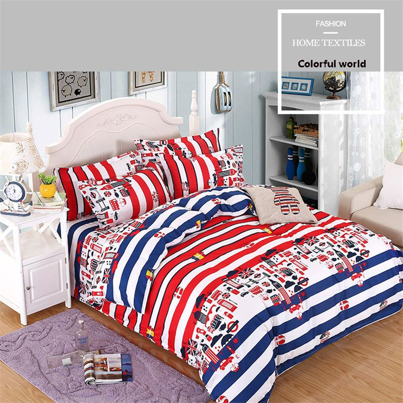 Superior PanlongHome 3 / 4 Pcs Colourful Bedding Bed Sheets Quilt Cover Pillowcase