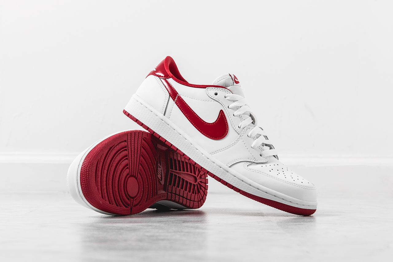 timeless design 76773 8f6f2 Air Jordan 1 Retro Low OG White  Varsity Red – Still Available   Air 23