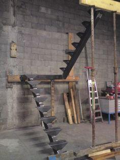 fabrication escalier double quart tournant avec palier stairs pinterest palier tournai et. Black Bedroom Furniture Sets. Home Design Ideas