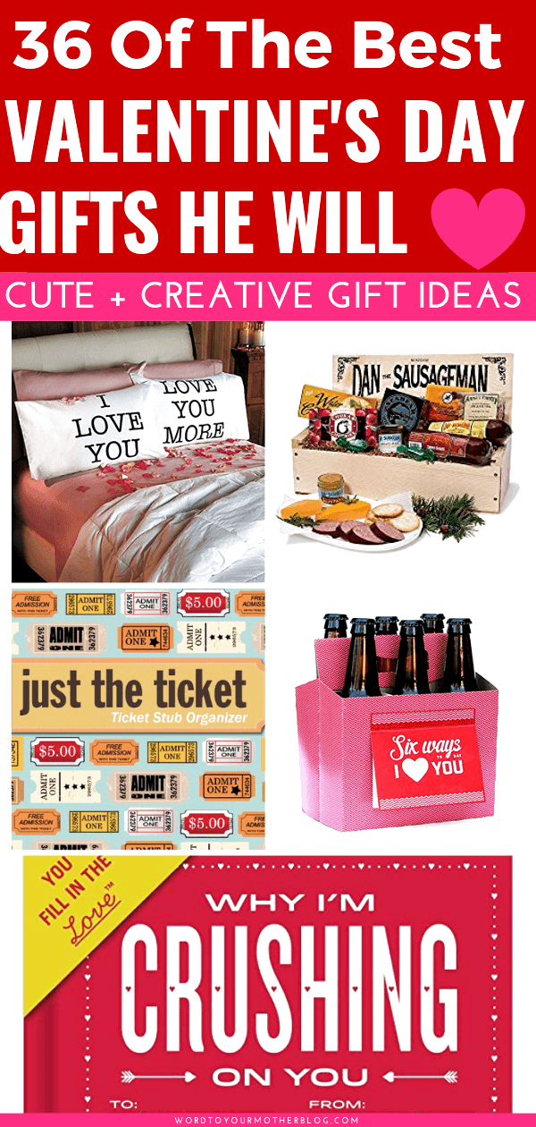 Valentines Day Gifts For Him! 36 Creative Valentines Day Gift Ideas [Husband &