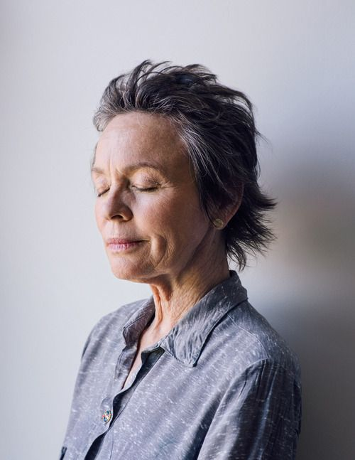 """Laurie Anderson: """"I've never really had a hobby, unless you count art, which the IRS once told me I had to declare as a hobby since I hadn't made money with it."""""""