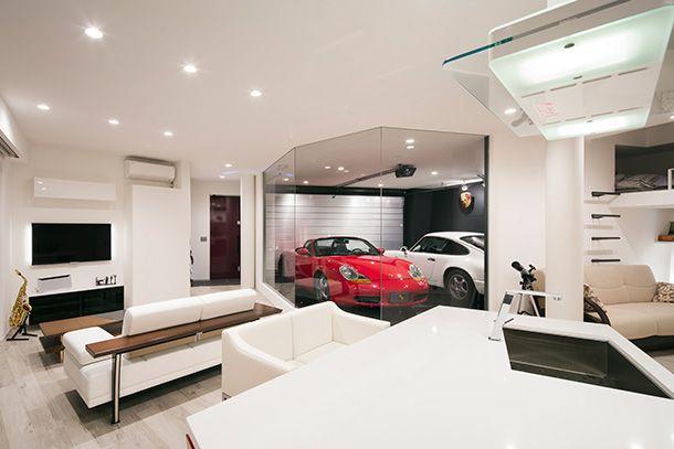 Pin von max was auf garage pinterest for Garage einrichten ideen