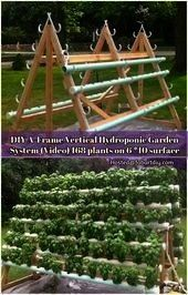 Vertical Hydroponic Garden System  Hydroponics DIY AFrame Vertical Hydroponic Garden System  Hydroponics  What Is Aquaponics Farming Product ID6094097513 Do you lack the...