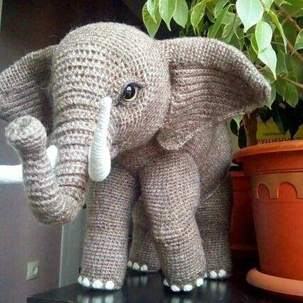 Amigurumi Elephant Patterns – Free Amigurumi Crochet #freeamigurumipatterns