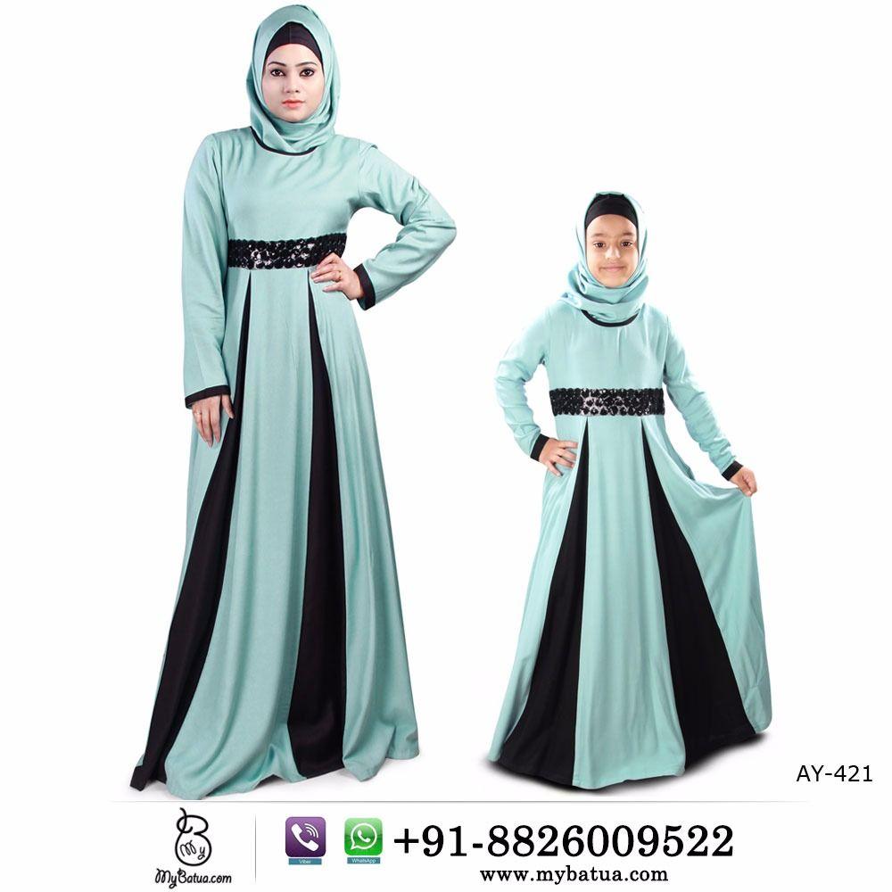 Buy Labibah Rayon Abaya Set For Women Kids Online Mybatua Buy Online Whatsapp 91 8826009522 Worldwide Shipping Rayonabaya Flaredabaya Kidsabaya Anak