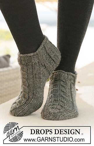 Knit In An Aran 10ply Free Pattern Download Crochet Socks N
