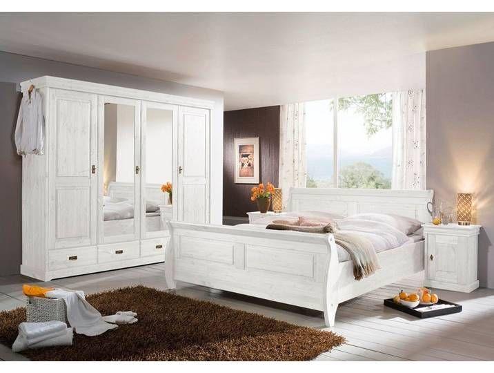 Schlafzimmer 'Jolina' Kiefer weiß Home, Furniture, Home