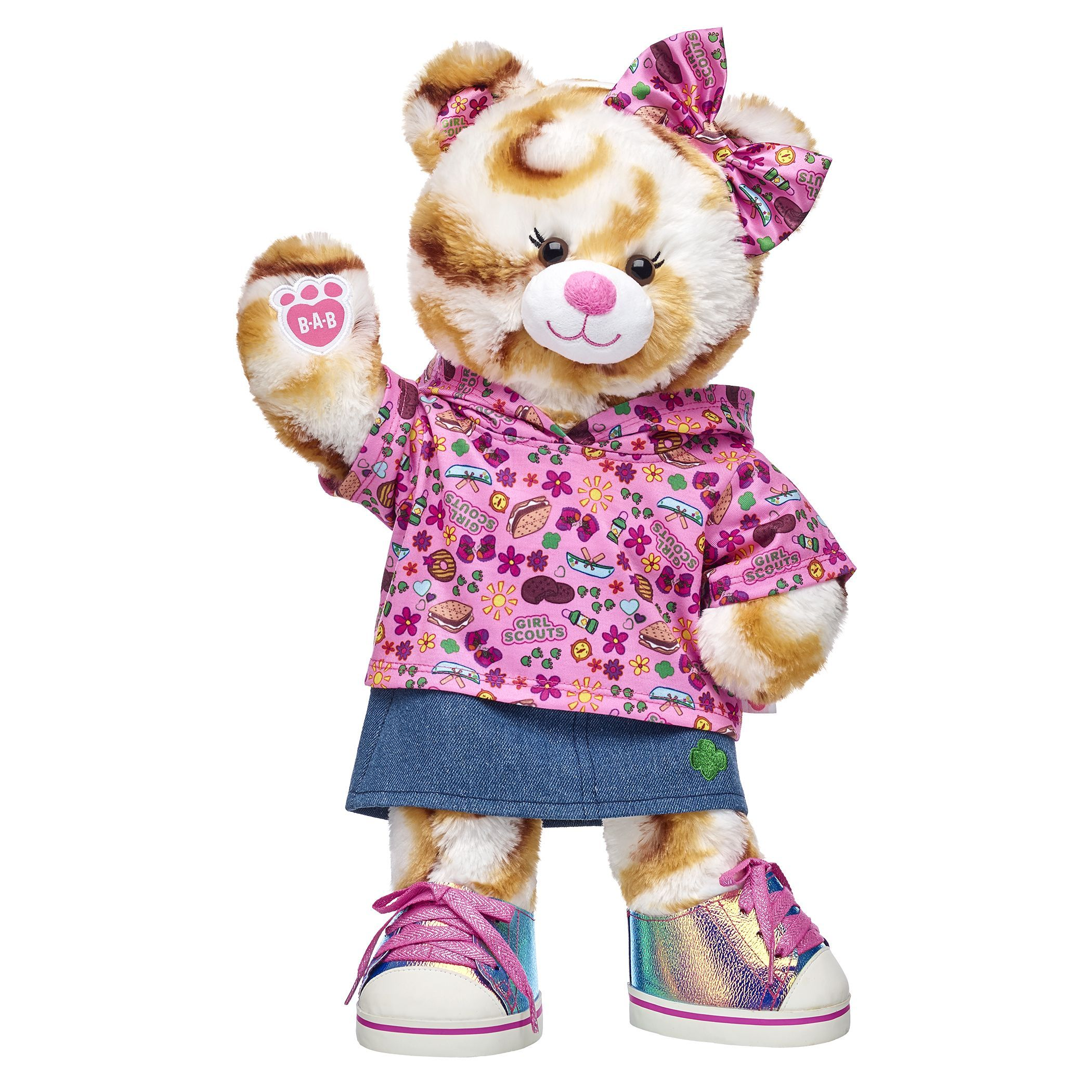 Dolls & Bears Build A Bear Workshop Fancy Fashion Doll Outfit Stuffed Toy  Dress Bow Accessory Bears gamersjo.com