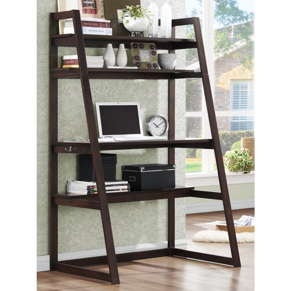 Luxury Wood Ladder Shelf Homedecoration Homedecorations