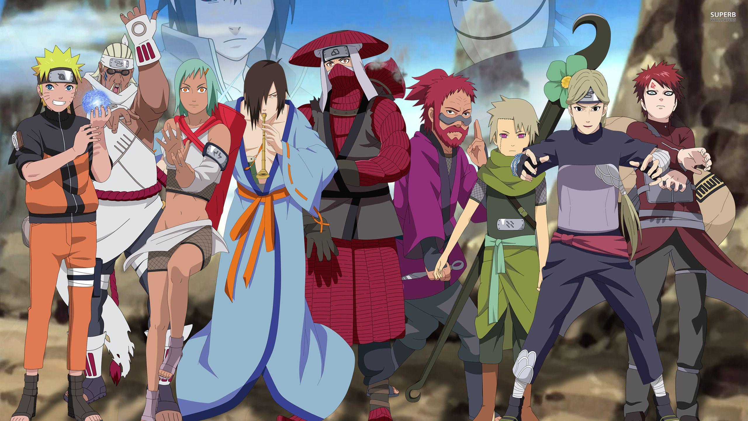 Naruto Shippuden main characters wallpaper | naurto ...