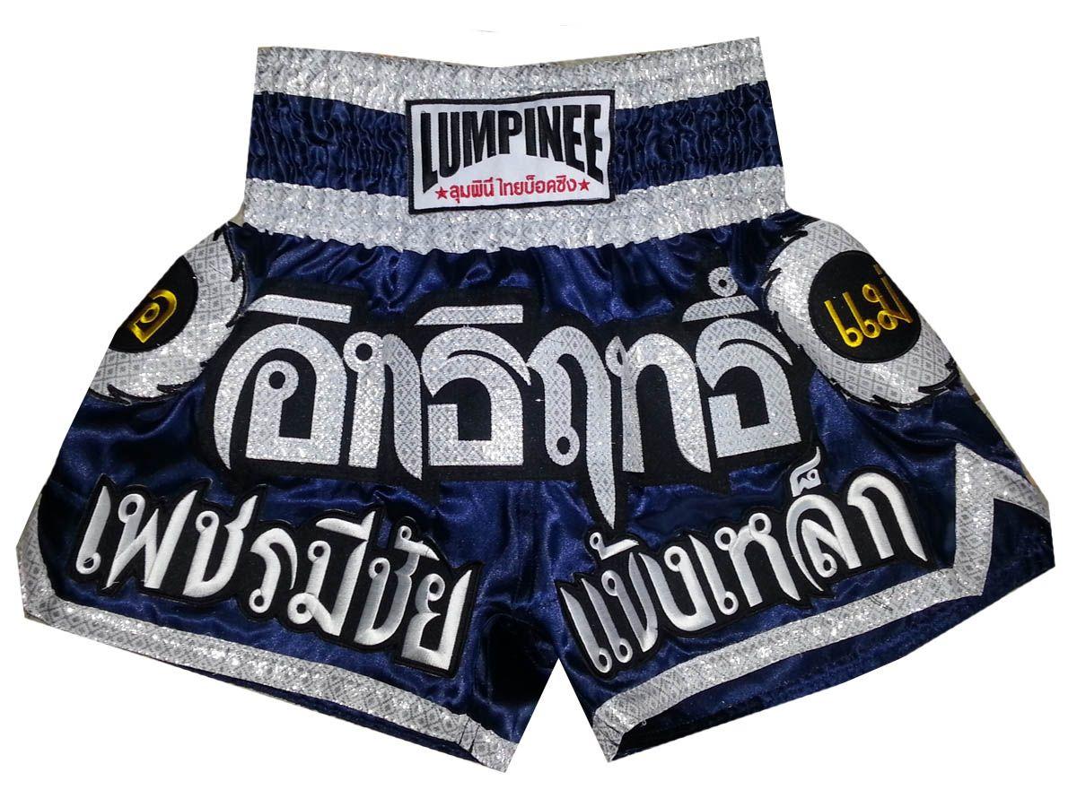 LUM-002 Lumpinee Muay Thai Kick Boxing Pantalones Cortos