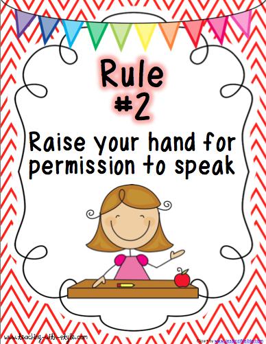Rule 2 Kindergarten Phonics Activities Teaching Rules Whole Brain Teaching