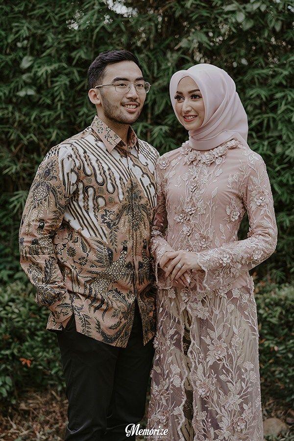 Baju Couple Tunangan Hijab