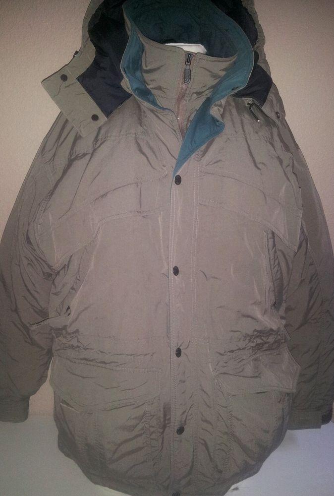 The North Face Men's Medium HEAVY DUTY Goose Down Jacket Coat Parka #TheNorthFace #Parka