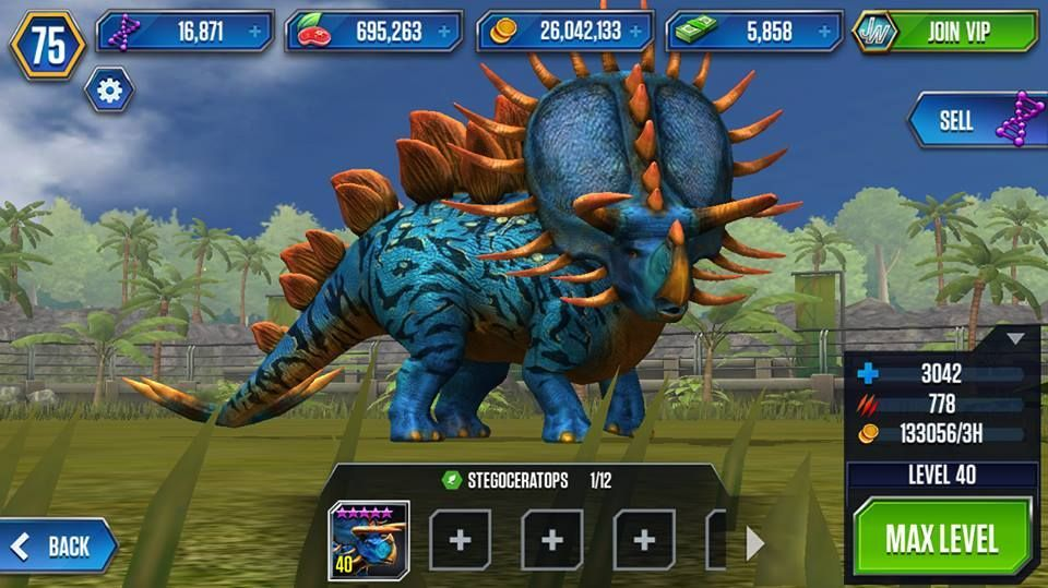 Jurassic World The Game Hack Free Coins Cash Food And Dna Live