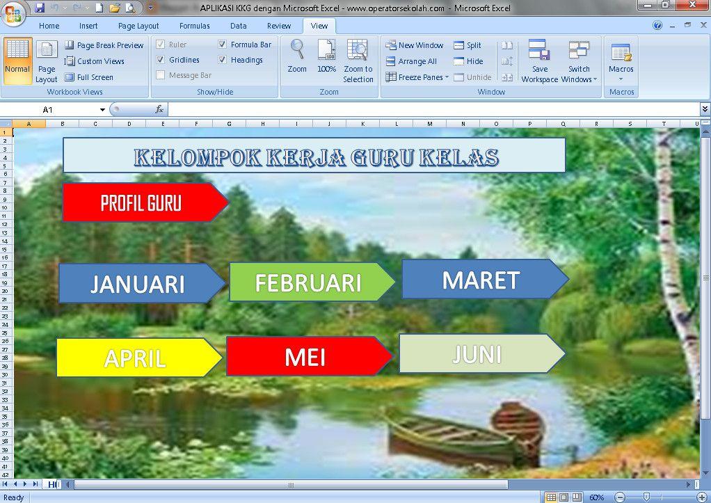xls otomatis] Software KKG Aplikasi Excel Free Download