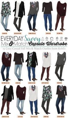 3525e8a7b6fd Love these mix and match cozy casual fall outfits. It is easy to look great  each day and still be comfy. Lots of fall outfit inspiration.