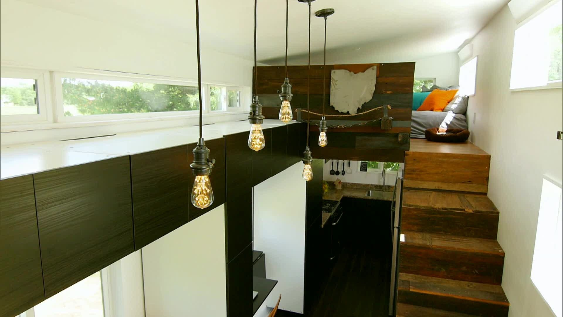 Ultimate Road Warrior Tiny House Built For $9174  Tiny House Delectable Living Room Candidate Review