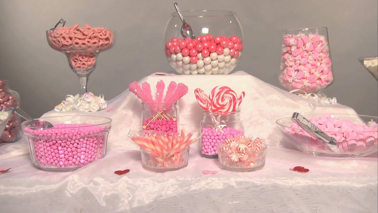 Create the Perfect Wedding Candy Buffet | Groovy Candies | Candy ...