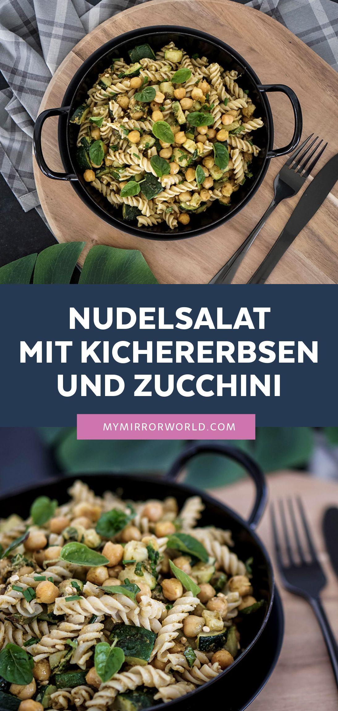 """Green Pasta: Der perfekte """"grüne"""" Nudelsalat zum Mitnehmen ins Büro"""