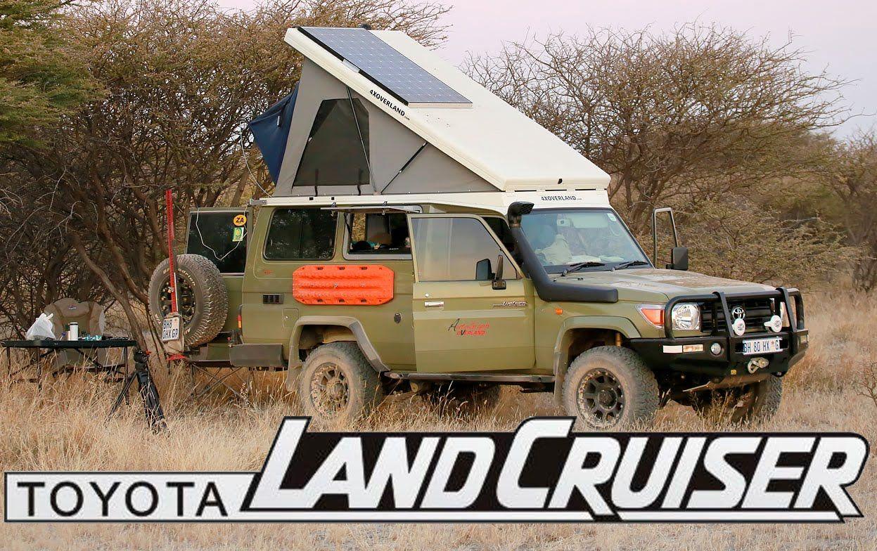 Toyota land cruiser the ultimate camper conversion