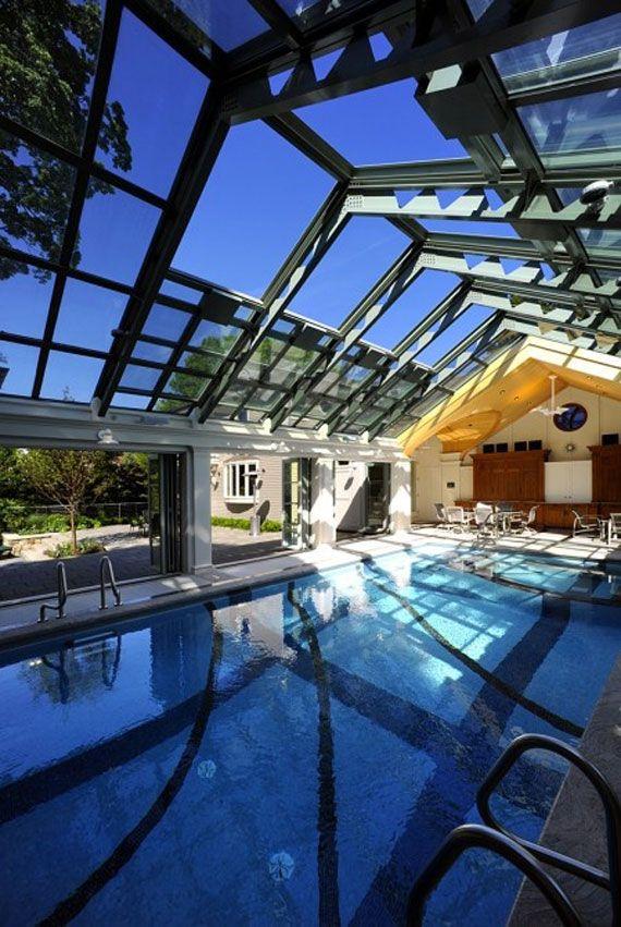 Best 46 indoor swimming pool design ideas for your home - Indoor swimming pool designs for homes ...