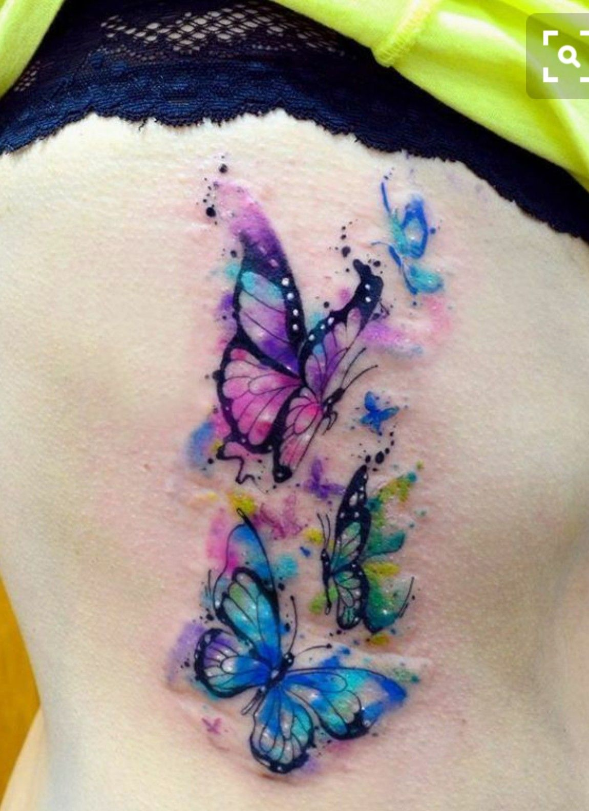 Watercolor Flower Moth Tattoo My Precious Ink: Pin By Sally Robbins On Tattoos