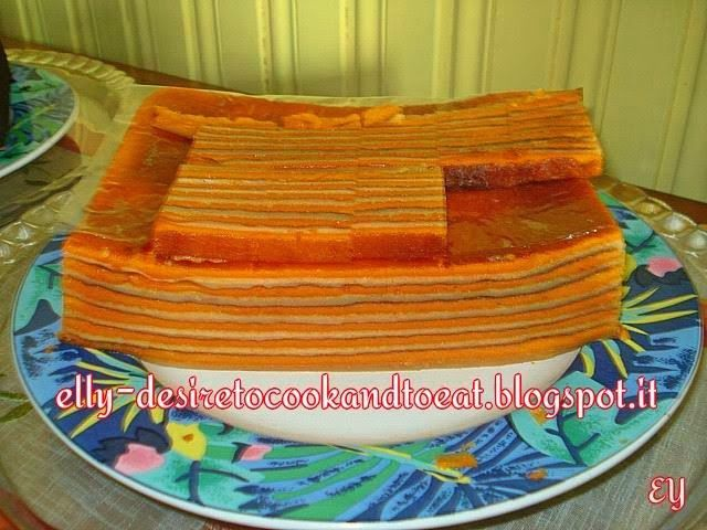 Lapis Putih Kuning Layer Cake Granny S Recipe Cake Recipes