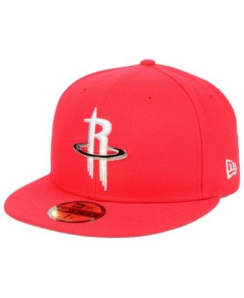 watch 2ff35 8fa8b New Era Houston Rockets Metal Mash Up 59FIFTY-fitted Cap - Red 7 1 8