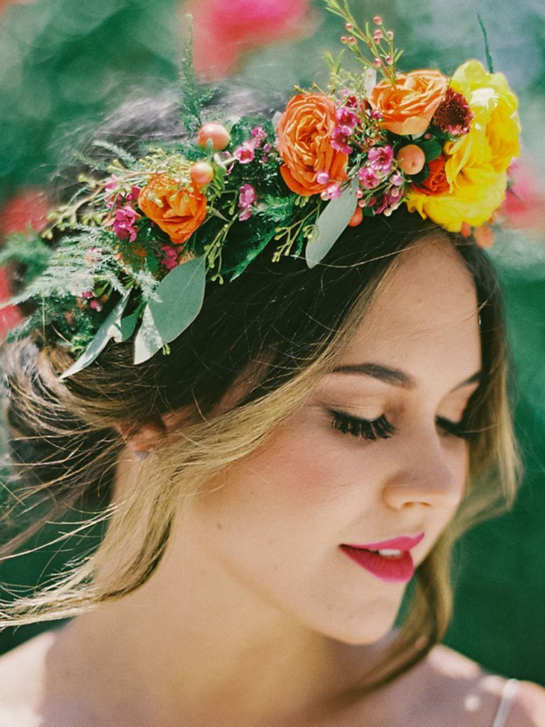 Design your own wedding dress for fun  Flower Power Creating Your Own Flower Crown In this class she